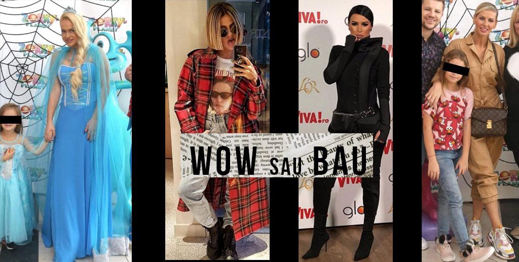 Wow sau Bau de Halloween in vizor Anda Adam , Andreea Banica, Cruduta si Lidia Buble